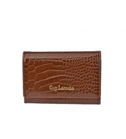 Monedero de piel GL-7495 cuero -13x9x2cm-