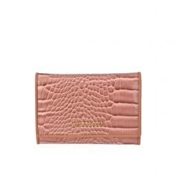 Monedero de piel GL-7495 rosa -13x9x2cm-