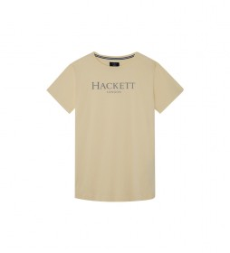 Camiseta Hackett LDN Tee beige