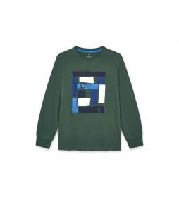 Camiseta HK500779 verde