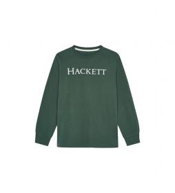 Camiseta Logo verde