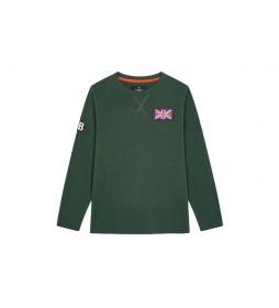 Camiseta UJK GB Badge verde