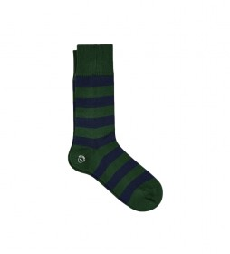 Calcetines Chunky Rugby verde, marino
