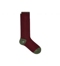 Calcetines Chunky Toe and Heel granate