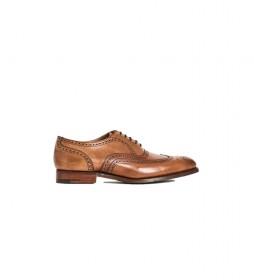Zapatos de piel Fulbrge marrón