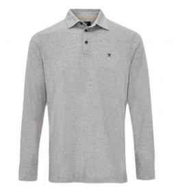 Polo Filafil Jersey gris claro