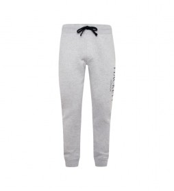 Pantalón de chándal logo London gris