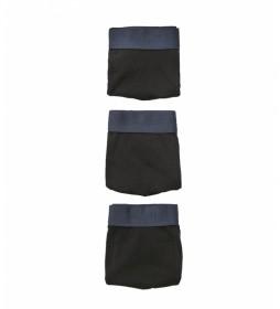 Pack de 3 Boxers Punto negro