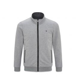 Chaqueta Refined Quilt gris
