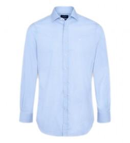 Camisa Stain Resistant Stretch azul claro