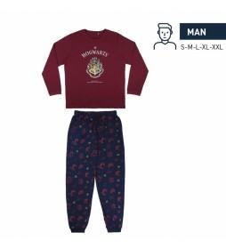 Pijama Harry Potter rojo
