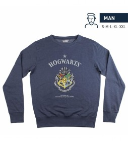 Sudadera Harry Potter marino