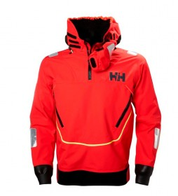 Helly Hansen Aegir Race Smock Jacket red /Helly Tech® / Polartec® / DWR / YKK® /