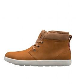 Botas de piel 11157 marrón
