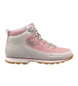 Helly Hansen W The Forester beige leather boots , pink