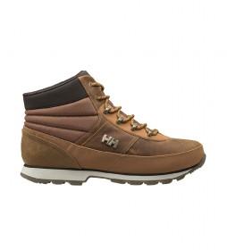 Botas de piel Woodlands marrón