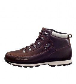 Helly Hansen Botas de piel The Forester marrón