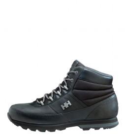 Helly Hansen Black Woolands leather boots