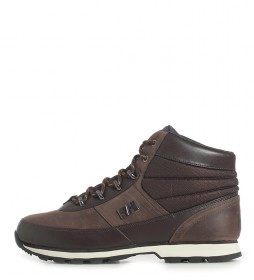 Helly Hansen Woodlands coffee leather boots