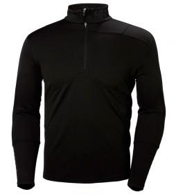Helly Hansen Camiseta HH Lifa Active 1/2 Zip negro