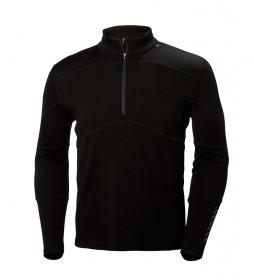 Helly Hansen T-shirt HH Lifa Merino Max 1/2 Zip black