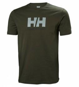 Helly Hansen Camiseta HH Logo kaki