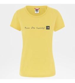 Camiseta Nse amaillo
