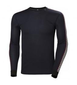 Helly Hansen Camiseta Técnica Lifa Stripe marino / Lifa Star Dry