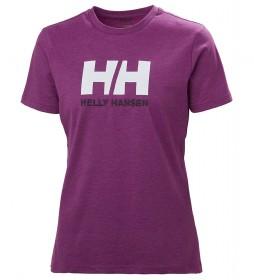 Helly Hansen T-shirt W HH Logo white, orange