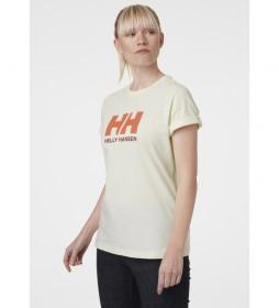 Camiseta W Logo HH amarillo