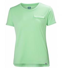 Helly Hansen Camiseta W Lomma verde