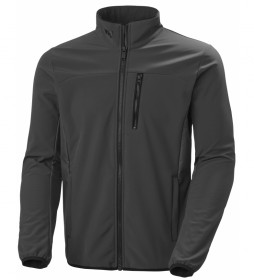 Helly Hansen Grey Softshell Crew Jacket