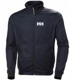 Helly Hansen Chaqueta Crew Windbreaker marino