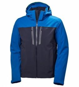 Helly Hansen Chaqueta de esquí Signal azul, gris