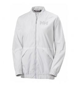 Chaqueta W Scape Long Jacket blanco / YKK® /