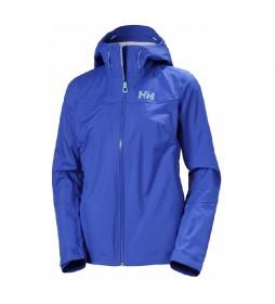 Chaqueta W VIMA 3L Shell Jacket azul / Helly Tech / DWR /
