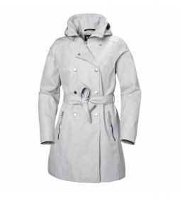 Helly Hansen Welsey II Trench Jacket light grey / Helly Tech /