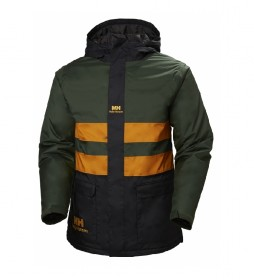 Helly Hansen Jacket Yu Ins Rain green