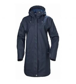 Helly Hansen Raincoat W Moss marine / Helox +