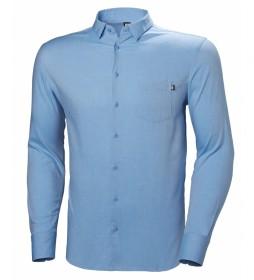 Helly Hansen Camisa Crew Club LS azul