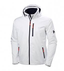 Helly Hansen Veste à capuche en maille mi-longue blanche - Helly Tech® Protection-