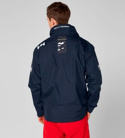 Helly Hansen Navy Midlayer Crew Hooded Jacket -Helly Tech® Protection-