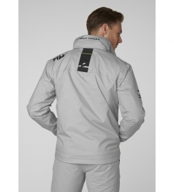 Helly Hansen Crew Jacket Hooded Midlayer grey - Kelly Tech® Protection