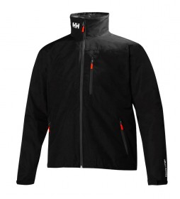 Helly Hansen Crew Midlayer black jacket -Helly Tech® Protection-