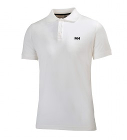 Helly Hansen Polo Driftline blanco -FPS 30-
