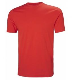 Helly Hansen Camiseta Crew rojo