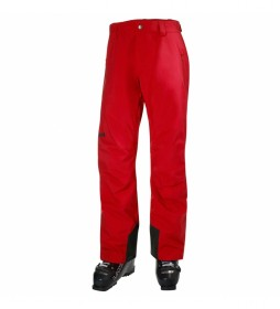 Pantalón Insulado Legendary rojo / Helly Tech®  / Primaloft® / bluesign® /