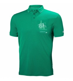 Helly Hansen Polo Racing verde / Tactel® /