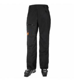 Pantalón de Esquí Sogn Cargo negro / Helly Tech® / Primaloft® /