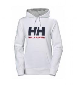 Helly Hansen Felpa W HH Logo bianca